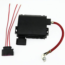SCJYRXS Battery Fuse Box + Plug Cable For Golf Bora MK4 Beetle A3 S3 Seat Leon Octavia 1J0 937 773 1J0937617D 1J0 937 617D стоимость