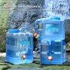 Secchiello per acqua da esterno da 15 litri contenitore per serbatoio di acqua portatile con rubinetto per campeggio Picnic escursionismo secchi d'acqua