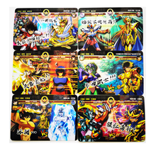 23pcs/set Saint Seiya Story Battle Card Golden Road Hobby Collectibles Game Anime Collection Cards