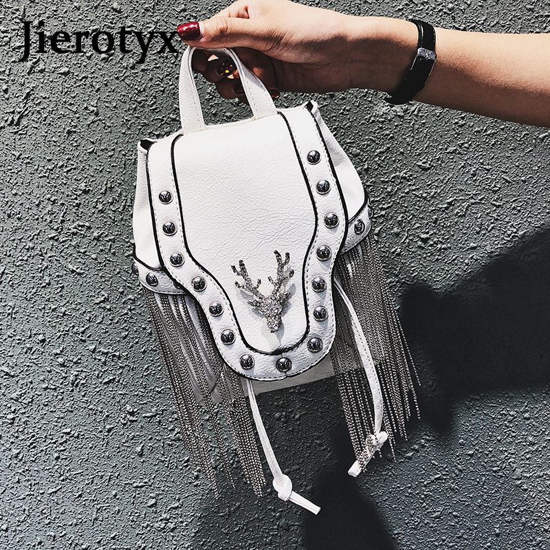 Image 5 - JIEROTYX Fashion Gothic Rock Leather Vintage Retro Steampunk Handbag Shoulder Bag Coin Purse Holder Women Messenger Bag 2020Top-Handle Bags   -