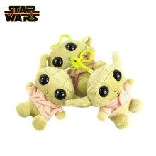 Disney Star Wars 11cm Baby Yoda Cartoon Plush Toy Doll Master Yoda Anime Figure Stuffed Plush Doll Keychain Pendant Gift for Kid цена 2017