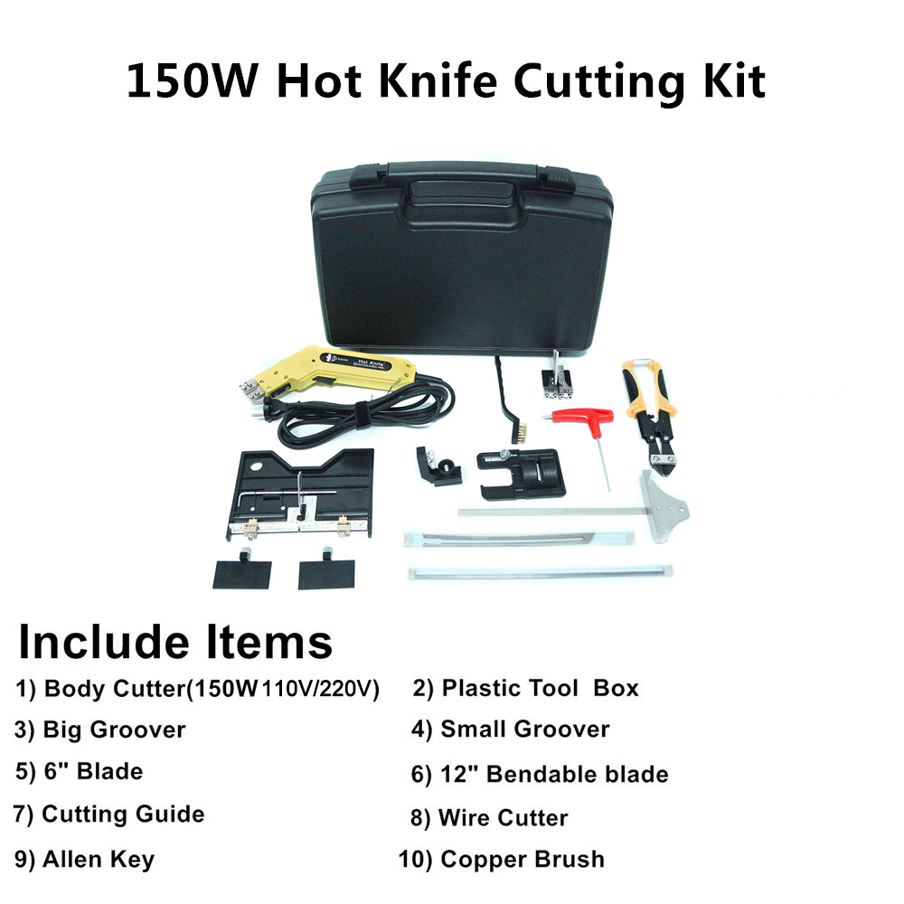 Air Knife Knife Kit Cutter Hot Pro Electric Use EAGLE Tool Continuous Cutting Foam Hot Cooled KS Electric Styrofoam