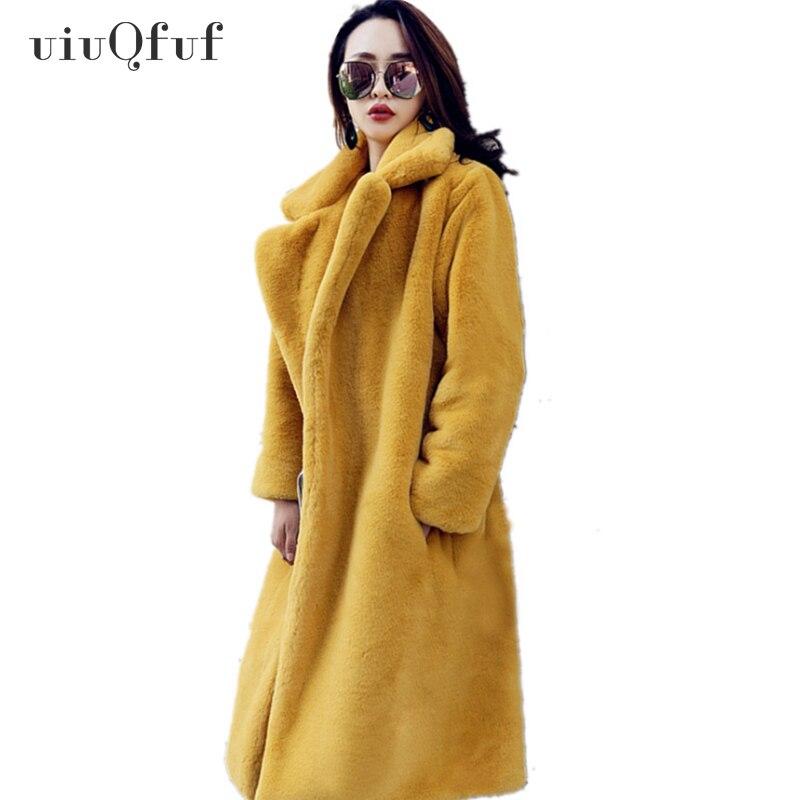 Automne hiver manteau moelleux chaud à manches longues vêtements de dessus pour femmes veste de fourrure manteau poilu