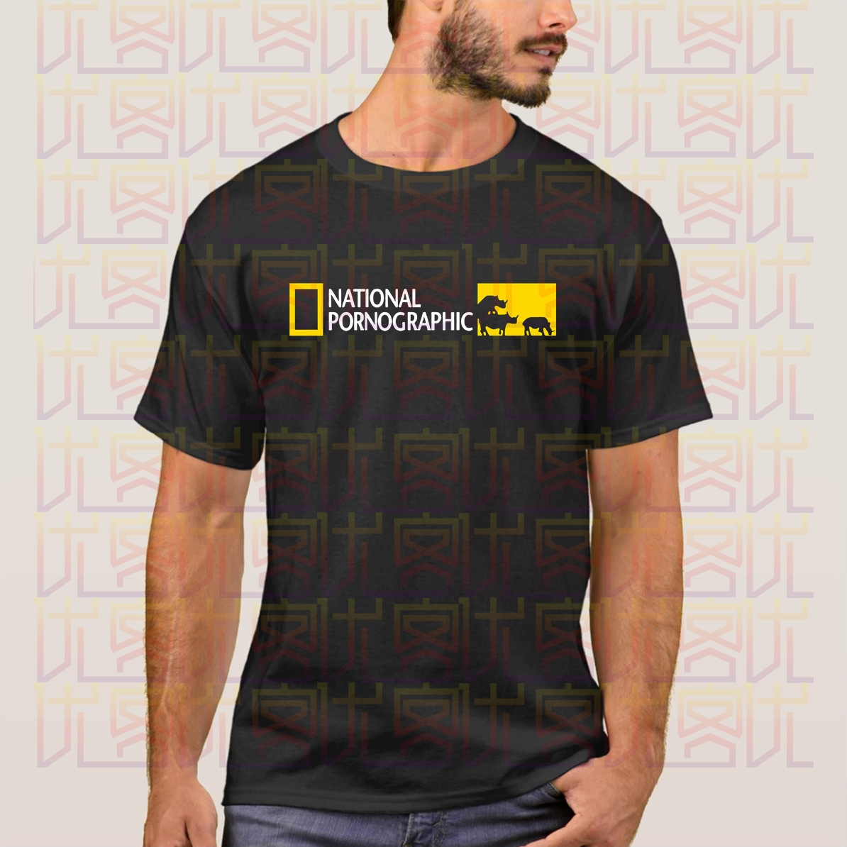 2020 Hot Sale 100% Cotton National Pornographic Funny National Geographic Inspired T-Shirt S-XXXL Tee Shirt Amazing Unique