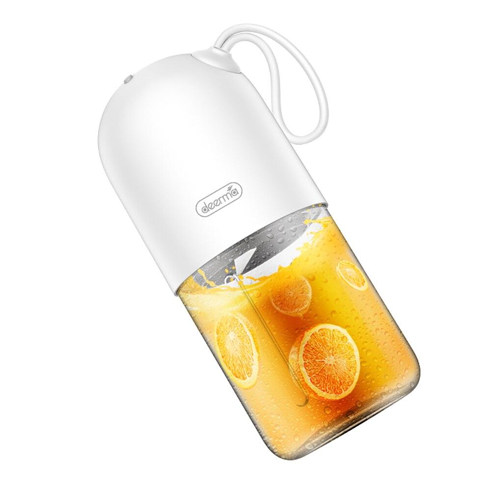 Youpin deerma DEM-NU01 portátil mini espremedor de frutas cozinha misturador elétrico mini forma cápsula poderoso copo elétrico