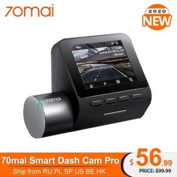 Original 70mai Pro Dash Cam Speed N coordinates 1944P ADAS Car Camera 70MAI Pro Voice Control 24Hours Parking Wifi Car DVR