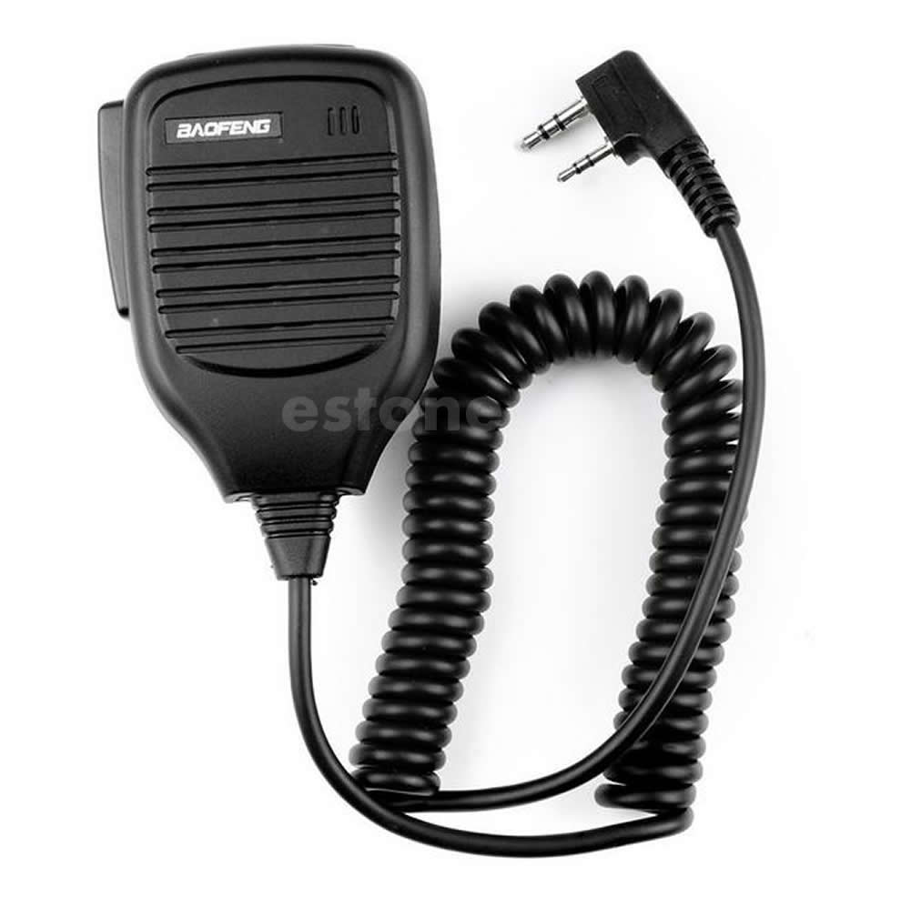 For Baofeng BF-888S BF-UV5R/UV5RA BF-UV3R Etc 2-Way Handheld Radio Speaker Mic