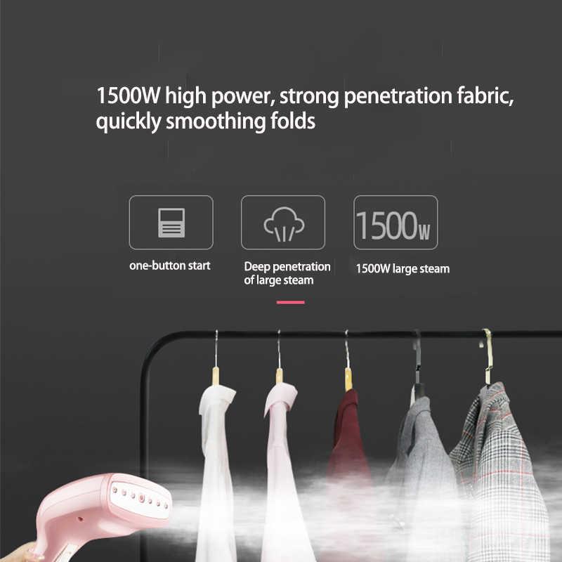Vaporizador de tela portátil KONKA de 250ml, 10 segundos de calor rápido, vaporizador de ropa potente de 1500W para viaje en casa, plancha de vapor portátil