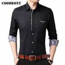 COODRONY Brand Men Shirt Long Sleeve Cotton 2019 New Arrivals Gentleman Business Casual Shirts Camisa Masculina 96099