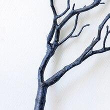 35 см декоративные растения пластиковые сухое дерево ветка ветки стволовых стола Декор Орнамент