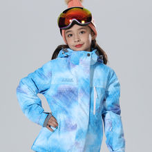 Snowboard Jacket Girls Boys Ski Waterproof Winter Thicken 6-16T Kids