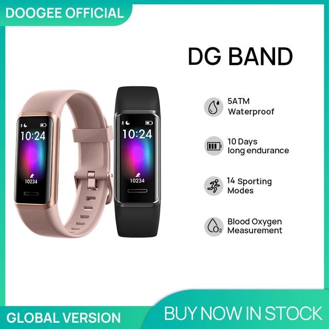 Фитнес-браслет DOOGEE DG Band 1
