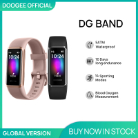 DOOGEE-pulsera inteligente DG Band, reloj deportivo resistente al agua, con Bluetooth, control del ritmo cardíaco durante el sueño, 14 modos deportivos, oxígeno en sangre