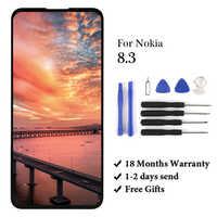 1 шт. для Nokia 8,3 5G ЖК-экран дигитайзер Ori качественная замена сборка ЖК-дисплей для Nokia 8,3 5G ЖК-дисплей для Nokia 8,3 displa