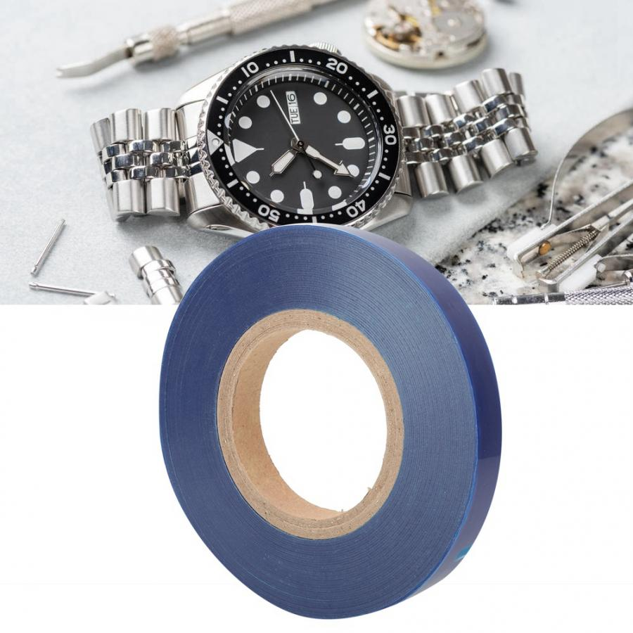 Watch Tool Anti-Static Jewelry Gemstone Watch Protective Film Tape Watch Repairing Tool Blue Watch Repair Tool for Watchmaker l