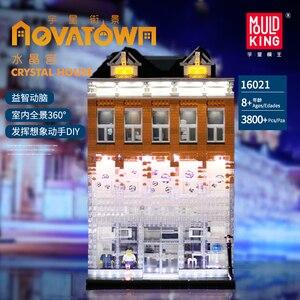 Image 5 - MOC Creator uzman kristal ev tuğla şehir sokak serisi Model oyuncak inşaat blokları çocuklar için uyumlu 10224 hediyeler