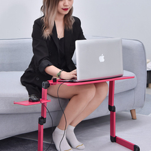 Laptop-Table Notebook-Holder Mouse-Pad Sofa Foldable-Stand Lap-Desk Office Multifunctional