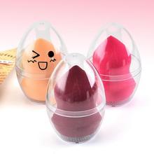 Рождественский стенд коробка для хранения косметики яйцо слоеного чехол аксессуар держатель в форме яйца прозрачный пустой макияж губка Shaper Puff Holder