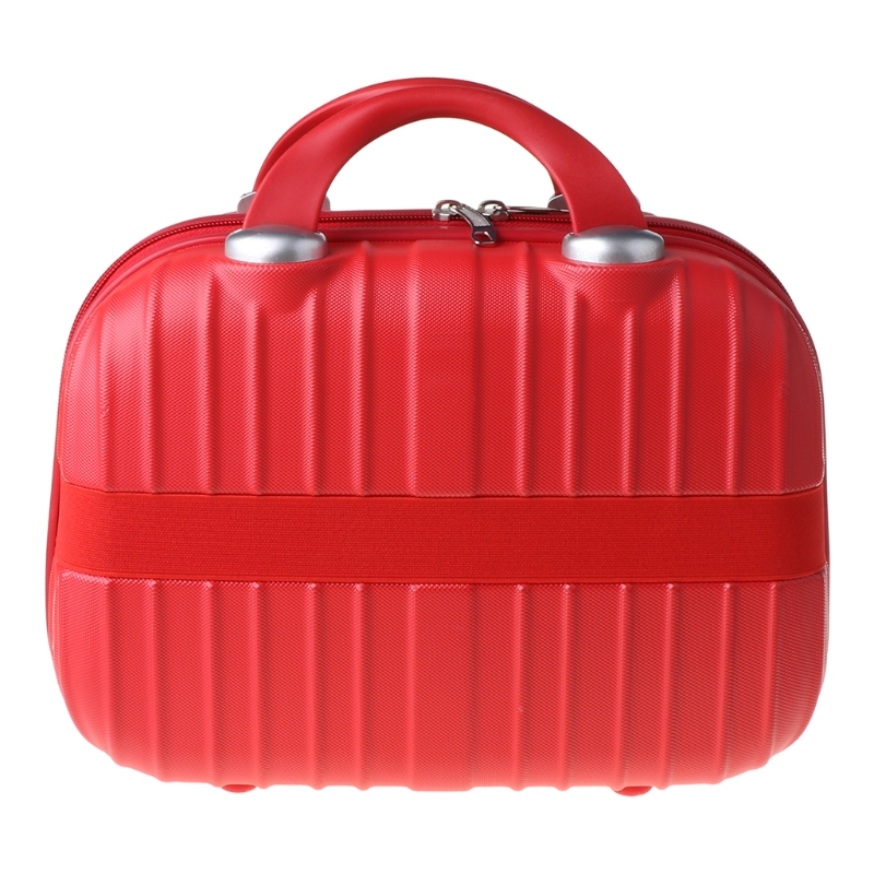14in Cosmetic Case Luggage Small Travel Portable Carrying Suitcase for Makeup