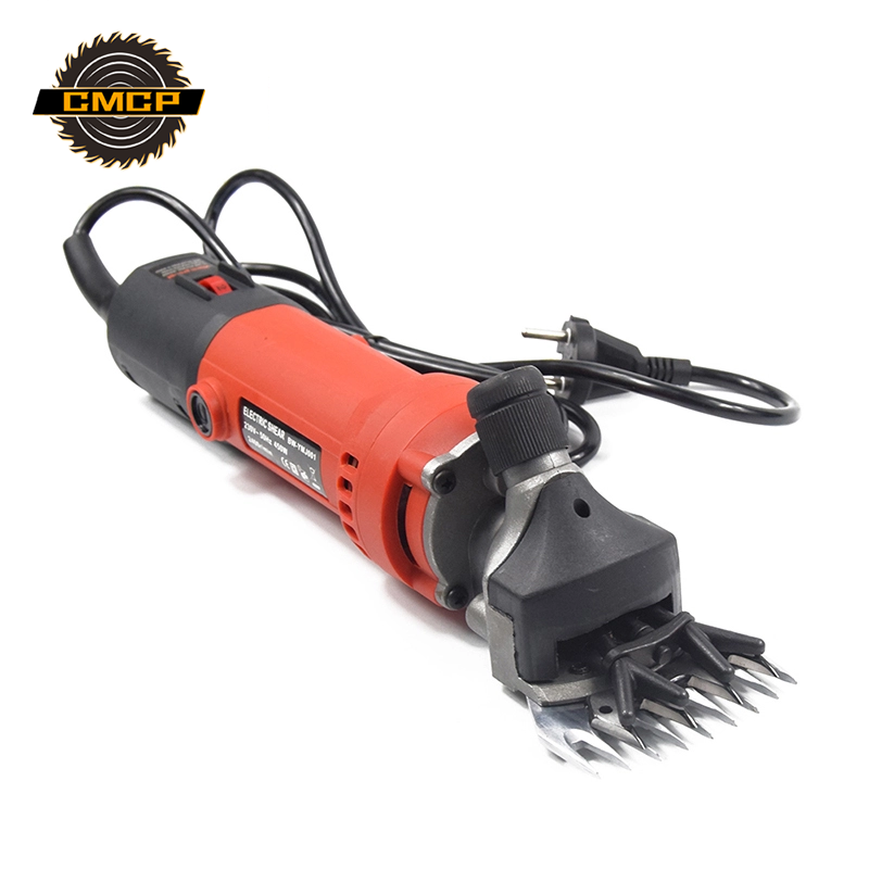 580W Electric Scissors For Sheep Goat Hair Shearing Machine Electric Clipper + 1 Set 13T Shearing Machine Blade Hair Cutter
