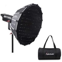 Aputure Light Dome Mini II Softbox for Aputure 120D Mark 2 300D II 120D and Other Bowen S Mount Lights (21.6 Inch Deep Octagon)