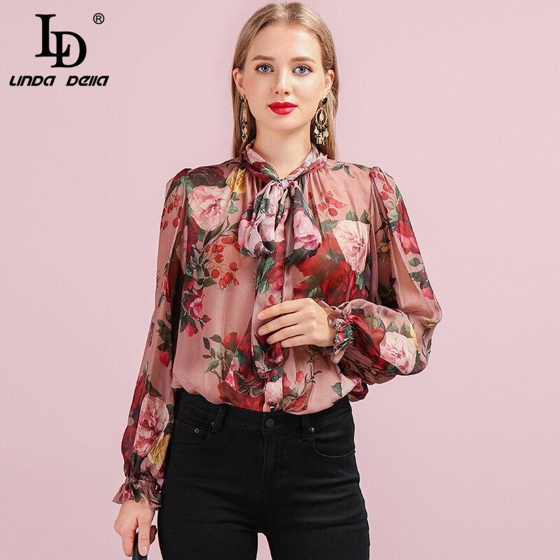PUNK RAVE mujeres gótico soporte Collar Floral encaje camisas moda Steampunk Vintage fiesta blusa Sexy encaje gótico camisa - 3