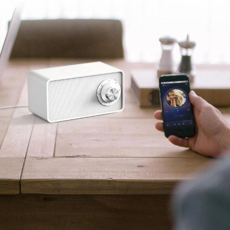 Image 3 - Xiaomi Mijia Qualitell Bluetooth Speaker Wireless Charger White  Noise Speaker New BLT5.0 EPP 10W Fast Charging Sleep SpeakerPortable  Speakers