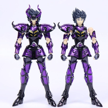 CS Model Saint Seiya EX Capricorn Shura Hades Specter Surplice Gold Saint Shura Action Figure Metal Armor Model Toys