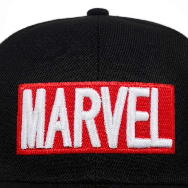 2019 kids MARVEL letter embroidered baseball cap fashion hip hop snapback hat child cotton can adjust hats stitching caps