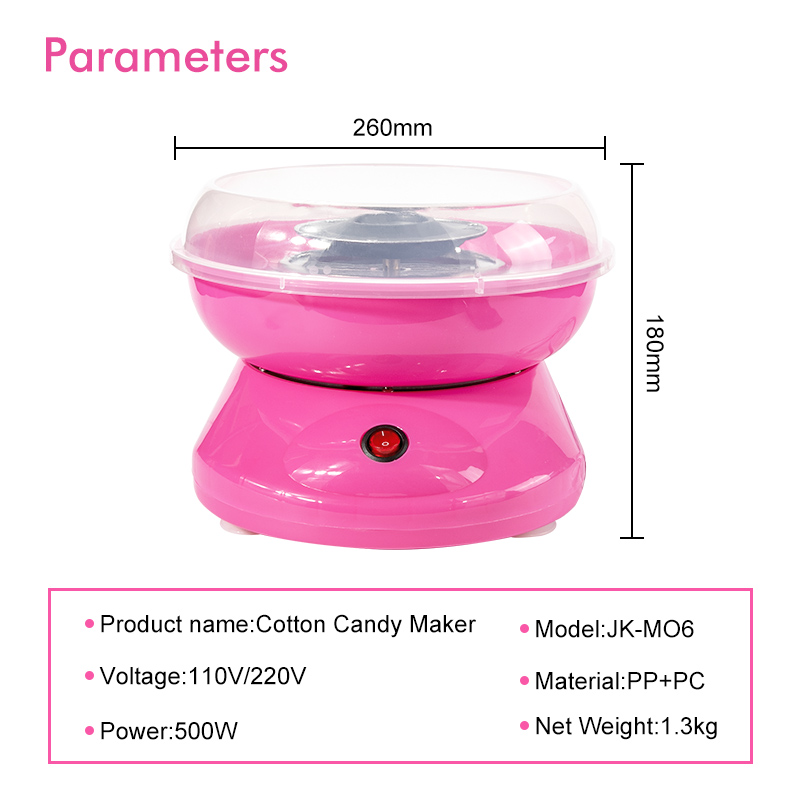 RollingBronze Candy Floss Makers Nostalgia Hard and Sugar Free ...