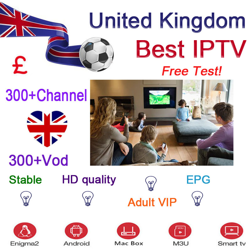 7600+ World IPTV Subscription Android Ip Tv  Uk Spanish French Italy Portugal Poland Arab Hot Adult For Box M3U SSmart TV
