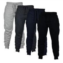 цены 2020 otoo nuevos pantalones de chndal casuales para hombres pantalones slidos de calle alta Joggers de gran tamao de marca