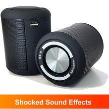Haut-parleurs Bluetooth portables boîte Mini Subwoofer stéréo choqué HiFi son bureau TWS musique mains libres TF Usb lecteur Audio extérieur