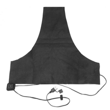 Washable Electric Heating Pad Winter Temperature Adjustable USB Charging Vest Thermal Clothing Car Back Warm Alloy Fiber 3 Gear