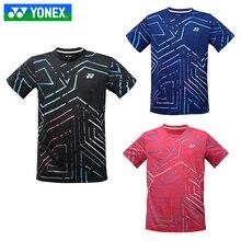 Новая одежда YONEX для бадминтона для мужчин и женщин, футболка с короткими рукавами, Спортивная майка