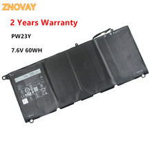 ZNOVAY PW23Y RNP72 TP1GT Laptop Battery For Dell XPS 13 9360 13-9360-D1605G 0RNP72 0TP1GT Tablet 7.6V 60WH PW23Y