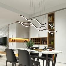 מינימליסטי מודרני LED תליון אורות חדר אוכל סלון תליית Hanglampen השעיה תליון מנורת מתקן משלוח דואר