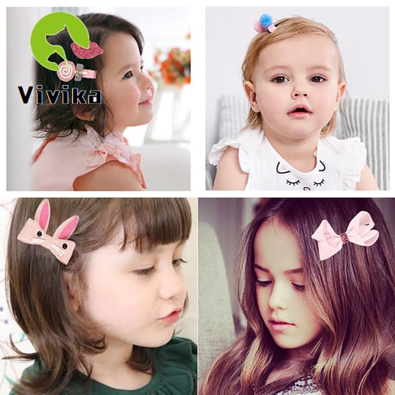18pcs /BOX Children's Hair Accessories Girls Headdress Baby Korean Princess Super Fairy Cute Little Girl Hairpin Baby Hair Clip