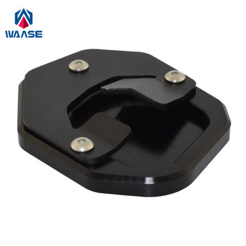 waase For Yamaha Tenere 700 XT700Z XTZ700 T7 2018 2019 2020 Kickstand Foot Side Stand Extension Pad Support Plate