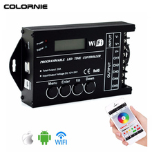 WiFi Time Programmable Led Controller Dimmer RGB Aquarium Lighting Timer TC421 TC420 5 Channels Controler For Strip