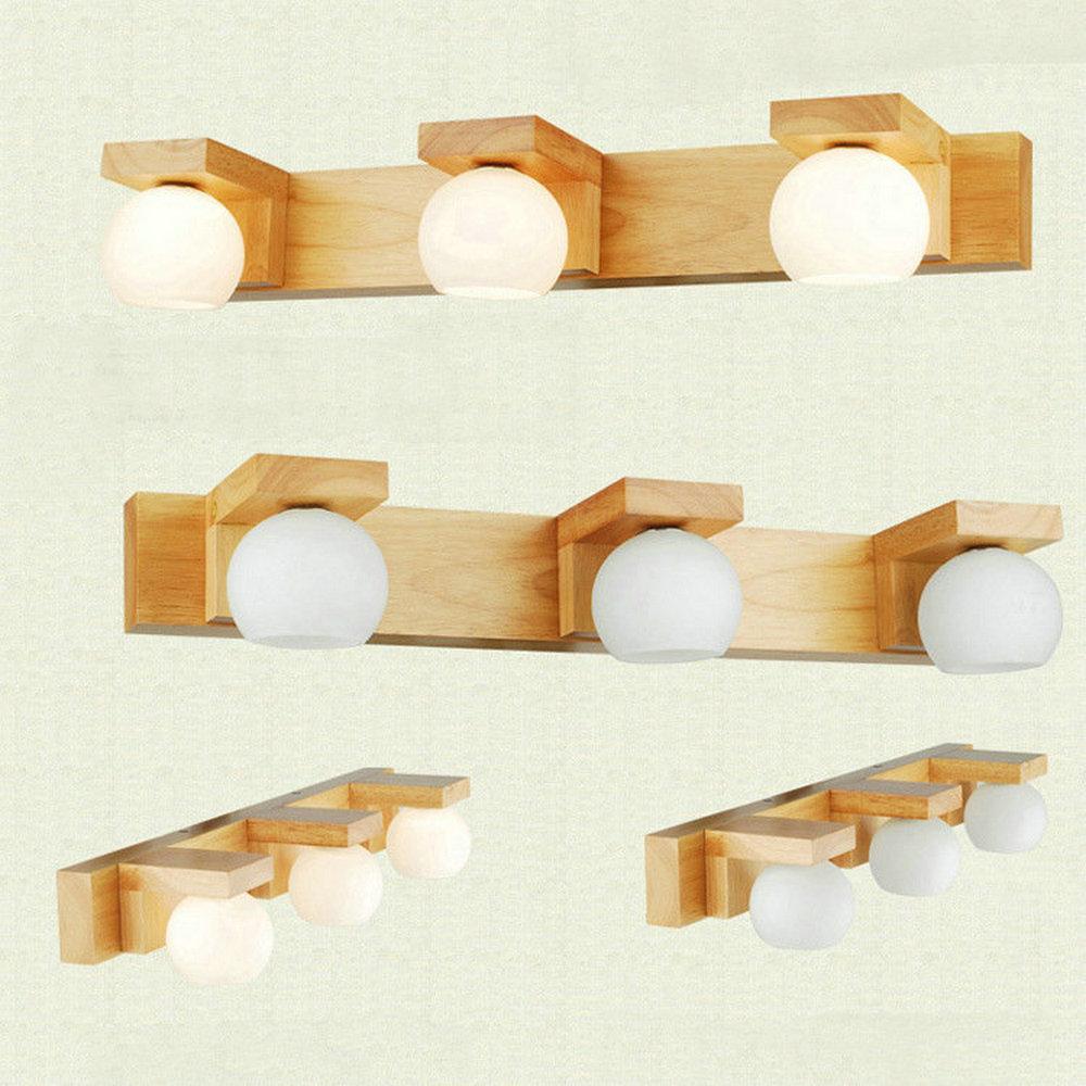 banheiro, longa de madeira, g4, lâmpada led,
