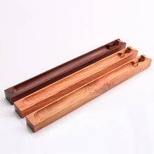 Buddhist Supplies Wood Incense Stick Holder Rosewood Style Incense Crafts Home Office Decoration Incense Censer Sandalwood(China)