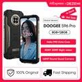 DOOGEE S96 Pro 24 Вт быстрой зарядки прочный телефон 48MP Quad Camera 20MP инфракрасный Ночное видение Helio G90 Octa Core 128 ГБ Встроенная память 6350 мАч