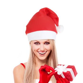 Złoty aksamit czapka świętego mikołaja piłka do włosów boże narodzenie kapelusz włochata piłka impreza dla dorosłych czapka festiwal kostium imprezowy na prezenty tanie i dobre opinie CN (pochodzenie) COTTON Christmas Hats