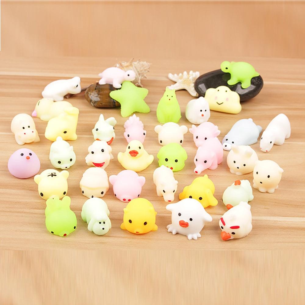 Fidjet Toys Pack Mochi Squeeze Fun Kids Children Kawaii Reliever Adult Cute Decor Set-Box img2
