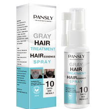 PANSLY Restore White Beard Hair To Natural  Color Spray Unisex Herbal Cure   Treatment Tonic Growth Essence Serum30ml