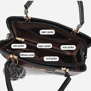Image 4 - 2020 المرأة حقيبة بولي Leather حقيبة يد جلدية للإناث الإناث الفاخرة حقيبة ساعي الكتف سيدة مصمم كيس حقيبة كروسبودي الرئيسية