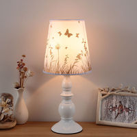 INS Super Fire Home Decoration Bedroom Bedside Modern Minimalist Fabric Lamp LED Fashion Creative Cool Lamps