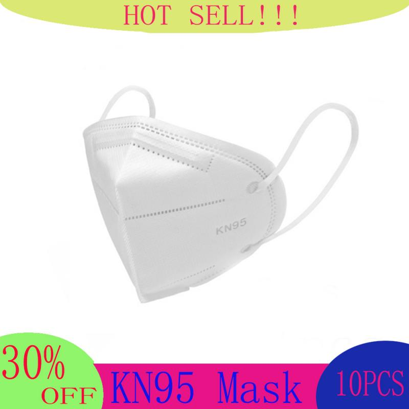 N95 Face Masks Bacteria Proof Anti Infection KN95 FFP2 Masks Particulate Mouth Respirator Anti PM2.5 Safety Protective Mask