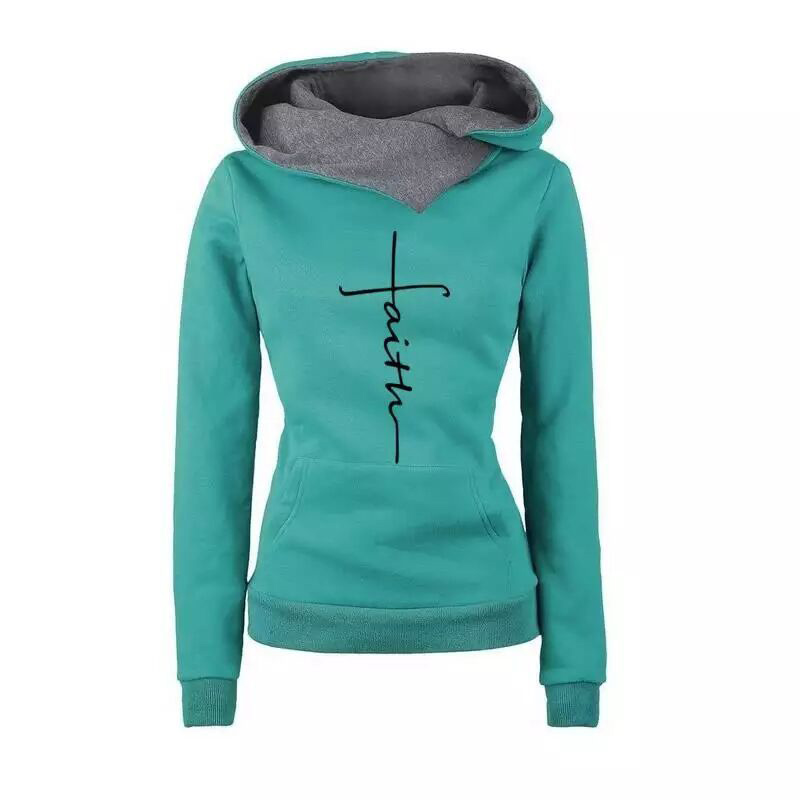 Hec2c7211c2e544d6bb1835a0fd5b7a80C - Autumn Winter Hoodies Sweatshirts Women Faith Embroidered  Sweatshirts Long Sleeve Pullovers Christmas Casual Warm Hooded Tops